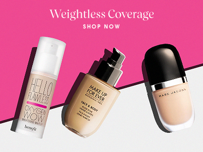 Weightless coverage foundation