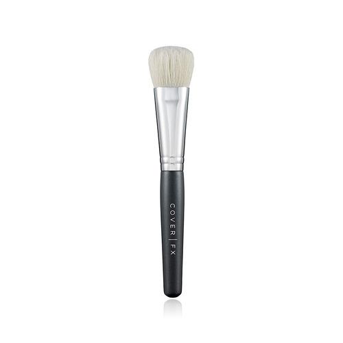Closeup   cream foundation brush