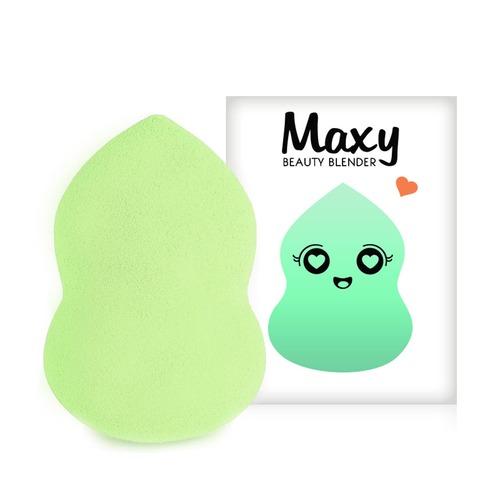 Closeup   box maxy blender green