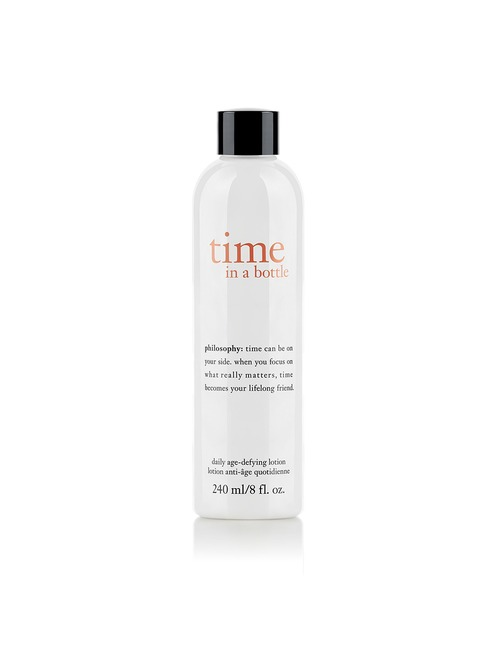 Philosophy Time In A Bottle Daily Age Defying Lotion