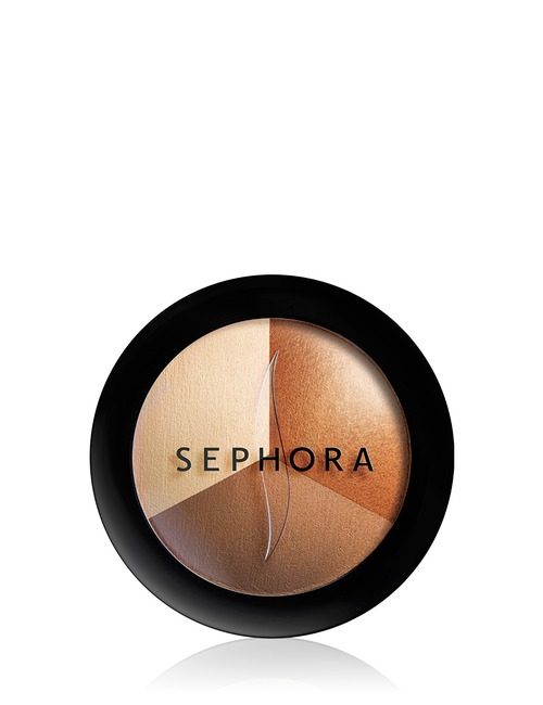 Sephora Collection Micro Smooth Baked Sculpting Contour Trio 4 Sophiscated