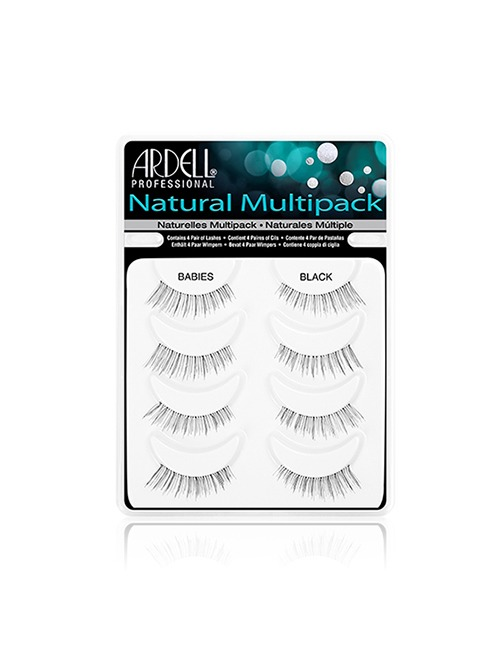 Closeup   ardell professional multipack natural lashes babies