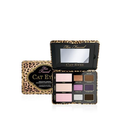 Closeup   cat eyes ferociously feminine eye shadow   liner collection