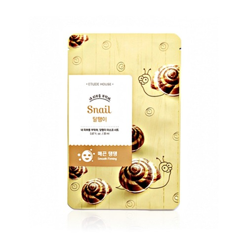 Closeup   i need you snail mask sheet