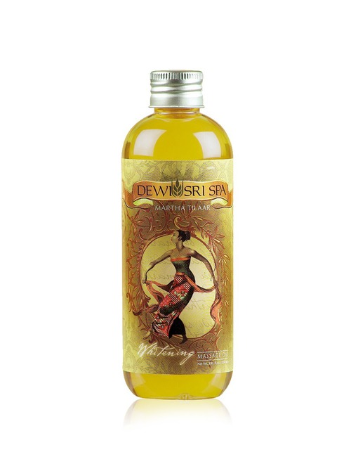 Dewi Sri Spa Whitening Massage Oil