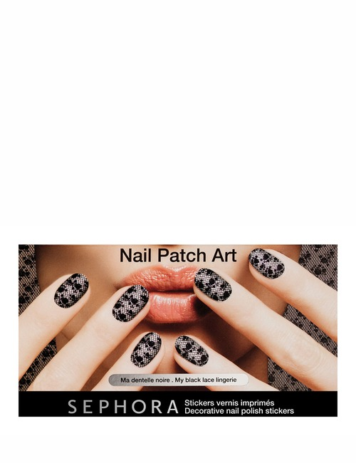 Sephora Collection Nail Patch Art  My Black Lace Ling
