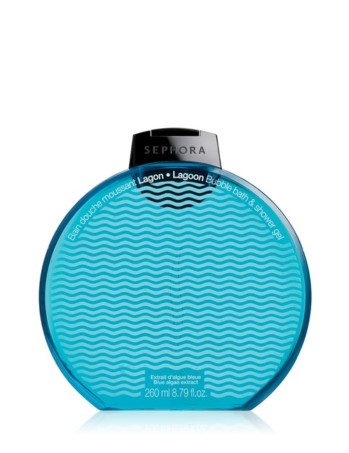 Sephora Collection Bubble Bath Shower Gel Graphic Lagoon
