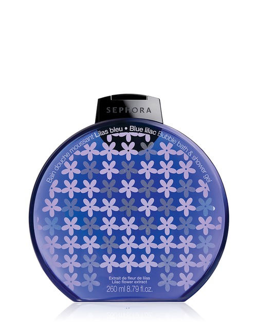 Sephora Collection Bubble Bath Shower Gel Graphic Lilac