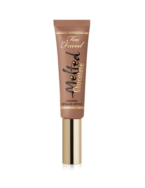 Too Faced Melted Chocolate Lip Liquified Metallic Lipstick Metallic Chocolate Diamonds
