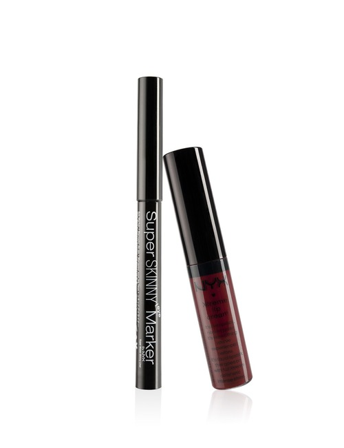 NYX Red Skinny Eye & Lip Set
