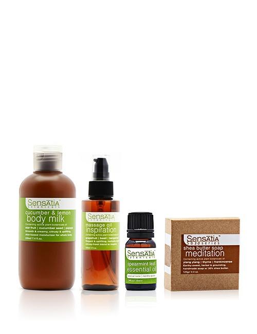 Closeup   massage   bath essentials